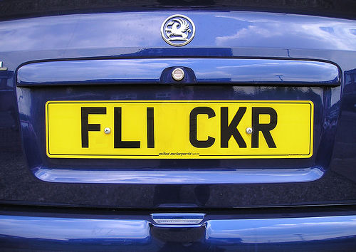 Funny License Plates Words