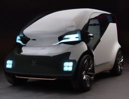 NeuV Honda Electric Car