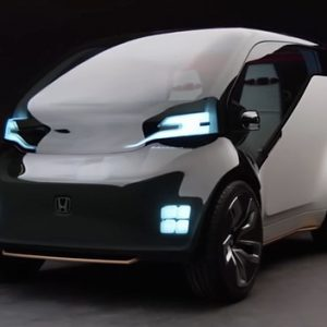 NeuV: Honda's New Electric Concept Car