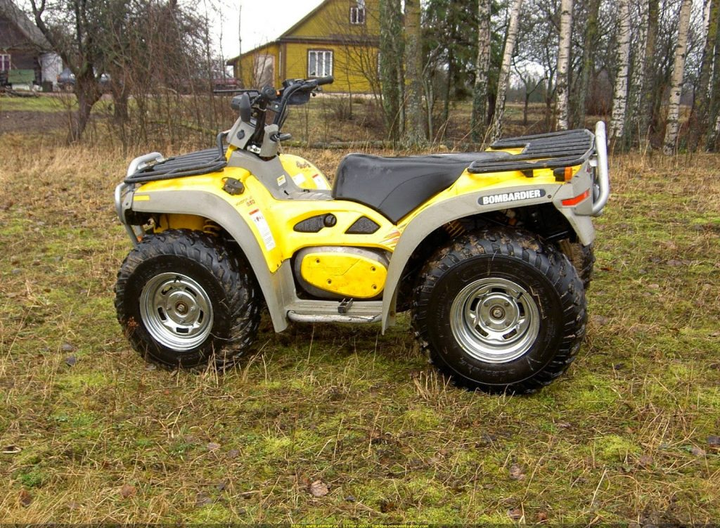 Bombardier Quest MAX 650 Quad Bike