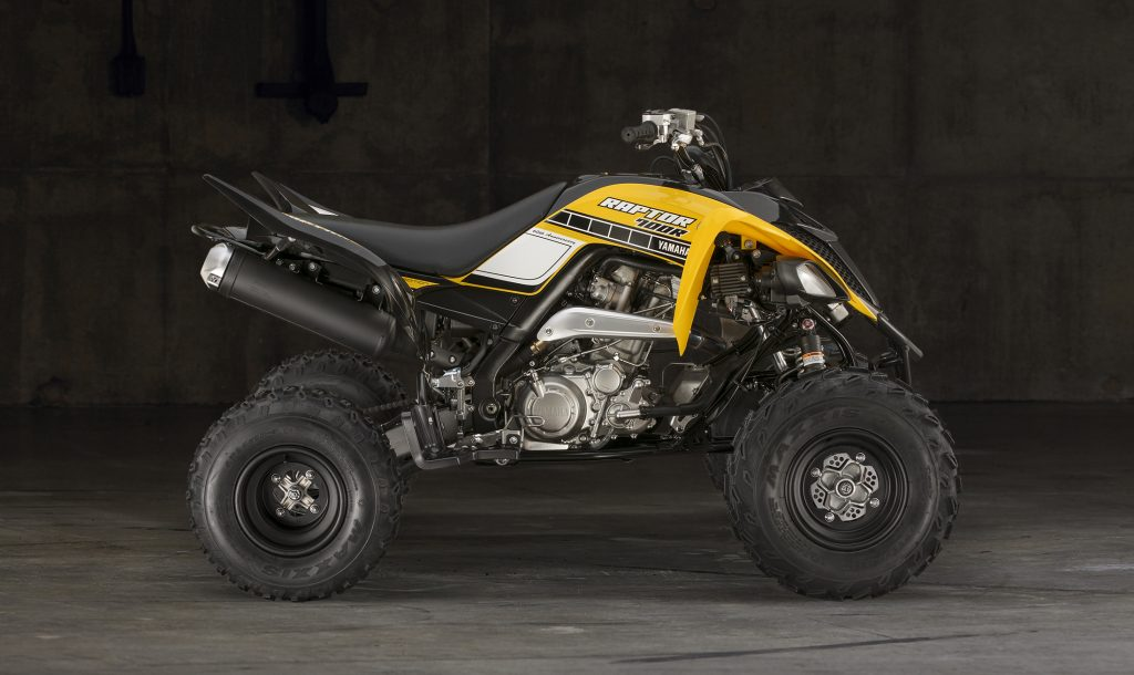 Yamaha Raptor 700R Quad Bike