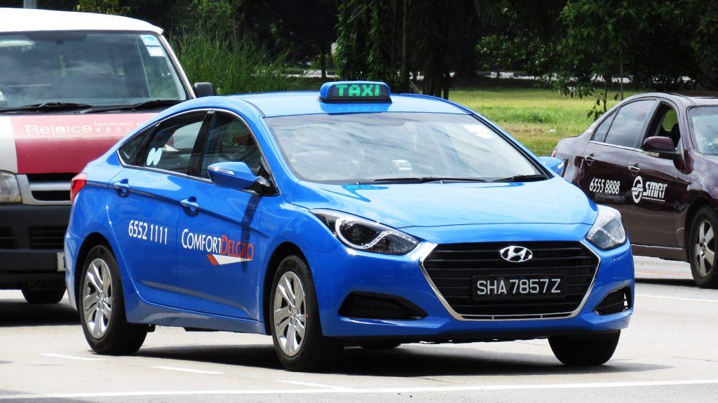 Hyundai i40 taxi