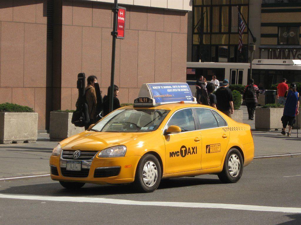 Volkswagen Jetta taxi